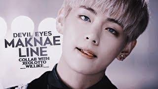 bts; maknae-line | devil eyes [w/xeolotto; __willike__] Video
