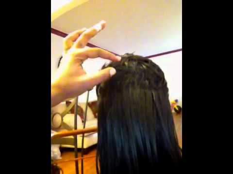 27 Piece Short On Top Long In The Back Youtube