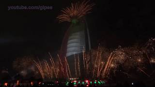 Spectacular Fireworks Display for 43rd UAE National Day & The Burj Al Arab 15th Year Anniversary‬