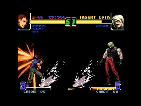 [TAS] The King Of Fighters 10TH Anniversary Unique Plus - K9999, Mary, Kim