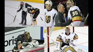 Golden Knights Goalie Injuries
