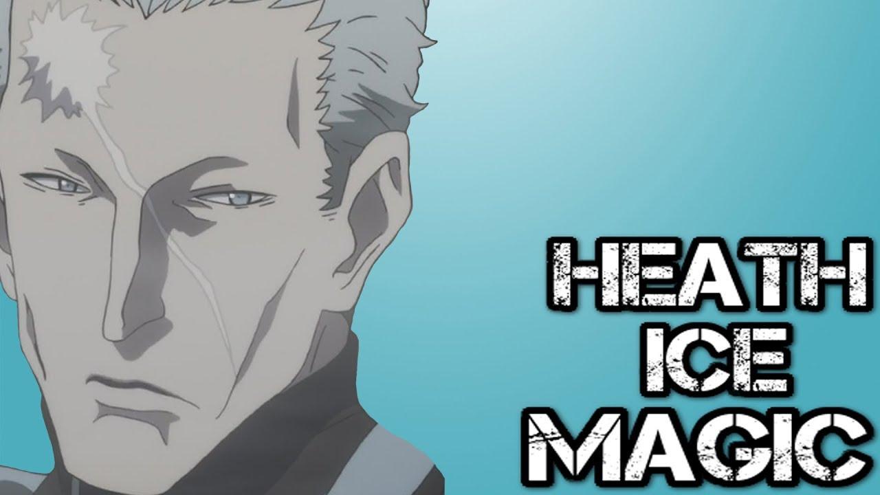 Heath Grice's Ice Magic Explained | Black Clover