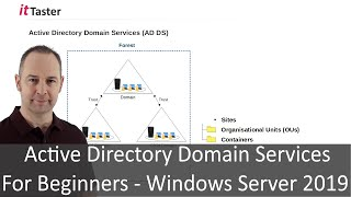 Active Directory Domain Services For Beginners - Windows Server 2019