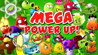 Plants vs Zombies 2 Mega Power Up!(All Great Plants with Power Up doing massive damage to zombies. Watch great video with Plants vs Zombies 2 plant food effect. More PRIMAL GAMEPLAY ..., 2016-09-14T11:00:01.000Z)