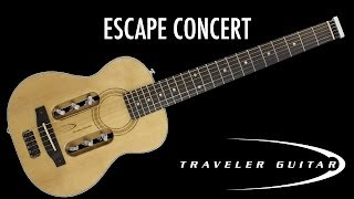Traveler Guitar Escape Concert Product Overview