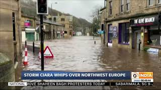 Storm Ciara whips over Northwest Europe; disrupts flight operations