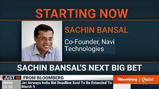 Flipkart Co-Founder Sachin Bansal's Financial Sector Gameplan