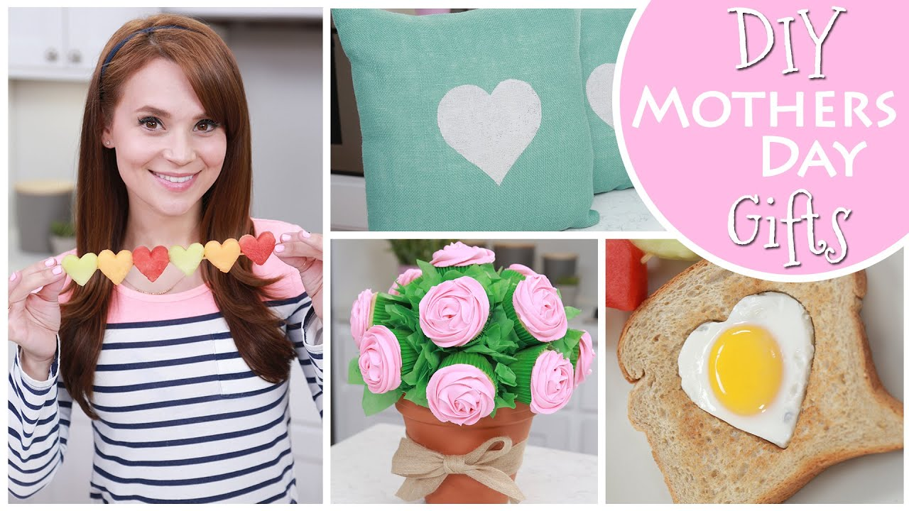 DIY MOTHERS DAY GIFT IDEAS - YouTube