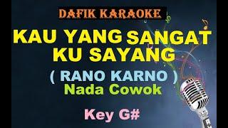Kau Yang Sangat KuSayang (Karaoke) Rano Karno / Nada Cowok G#