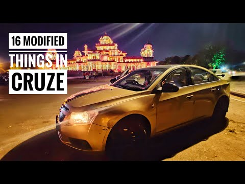 16 Modification In My Chevrolet CRUZE (Part 1) Android System   Atmosphere Lights   Wrapping