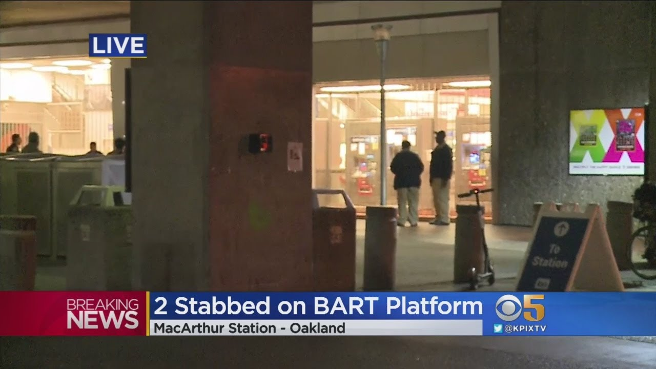 BART Police Investigate Fatal Stabbing of Nia Wilson by a KNOWN White Supremacist at MacArthur BART,