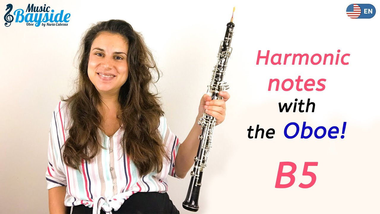 How To Play The Harmonic B5 On The Oboe Musicbayside Oboe Youtube