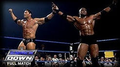 WWE | BOBBY LASHLEY VS BATISTA | (FIRST AND LAST TIME EVER)