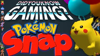 Pokemon Snap - Did You Know Gaming? Feat. The Dex