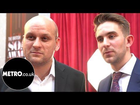 Ricky Champ and Tony Clay Eastenders British Soap Awards  Metro.co.uk