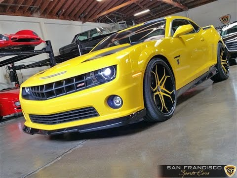 2012 Chevy Camaro Bumblebee Edition For Sale Youtube