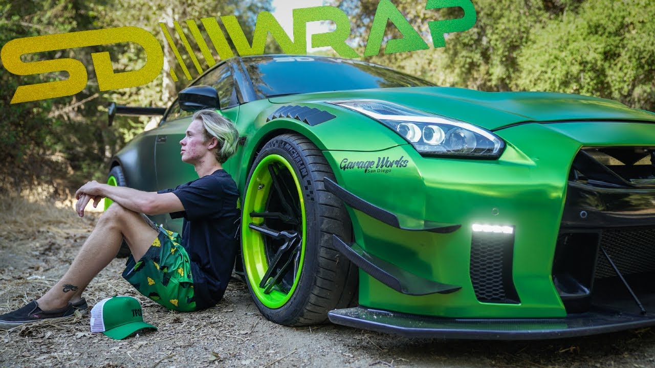 GUACZILLA 2.0!!! Behind the scenes of the WORLDS MOST FAMOUS GTR!!! #1