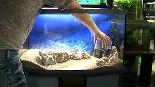 АквариумАрт.  100 литровый аквариум по мотивам картины Левитана