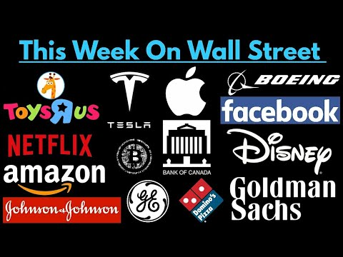 This Week On Wall Street (April 15, 2018 To April 22, 2018)