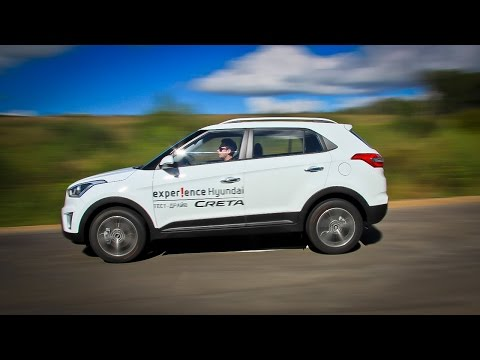 Hyundai Creta Лосиный тест. Торможение. Крены
