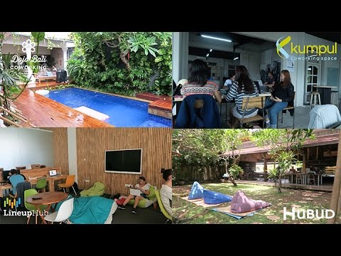THE TOP COWORKING SPACES IN BALI | DIGITAL NOMAD VLOG 03