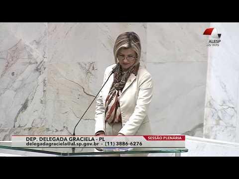 Delegada Graciela ataca o feminicídio e a violência contra as mulheres.