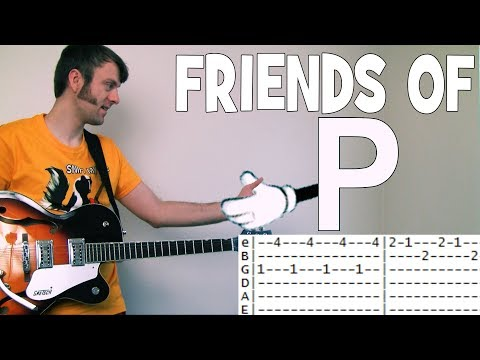 Tabs for Friends of P The Rentals Guitar Chords with Bass tab