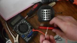 Ta'mirlash resistor pechka