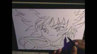 HOW TO DRAW SEIYA (TRAINING)