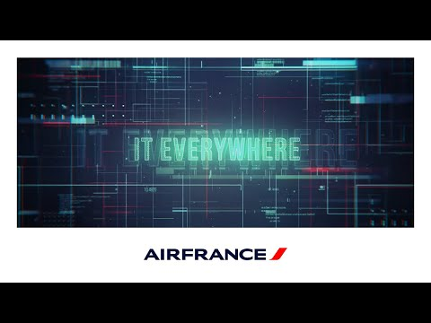 Les métiers Systèmes d'Information Air France - IT EVERYWHERE