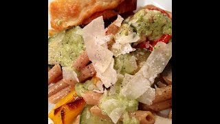 Pasta Topped w Veggie Ricotta  Cuban With A Twist  Episode 84