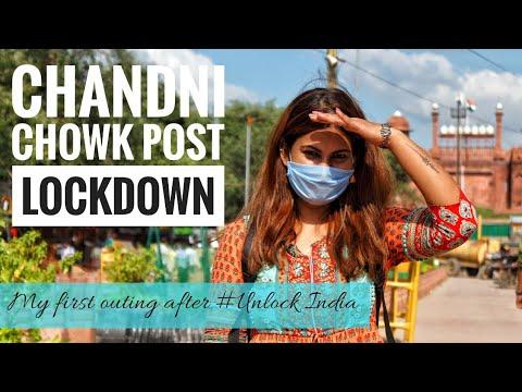 Chandni Chowk Market New Look Post Lockdown | Delhi Market After 'Unlock India' | DesiGirl Traveller