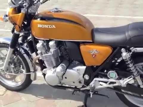 Honda CB 1100 White House Gold