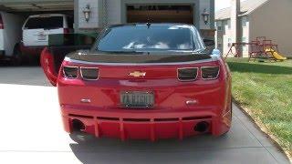 Exhaust 550hp Chevrolet camaro SS