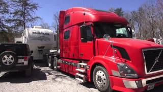 2016 East Coast Rally Heavy Duty Truck Arrivals and Tour