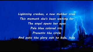 Live - Lightning Crashes (Lyrics)