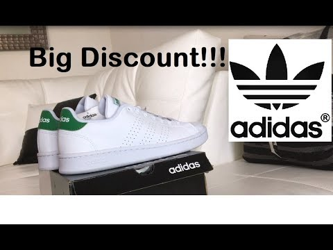 ADIDAS CLOUDFOAM ADVANTAGE CLEAN (White/Green)