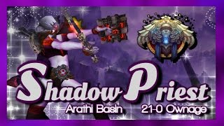 "World of Warcraft - Shadow Priest PVP ""Sort of Kill Stealing in AB"""