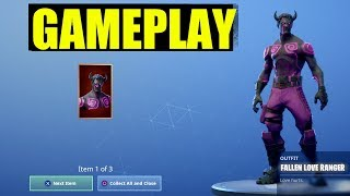Comment obtenir le Fallen Love Ranger Skin Fortnite (Fallen Love Ranger Gameplay - Challenges)