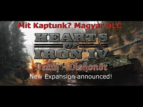 Hearts of Iron 4 - Death or Dishonor (magyar dlc)