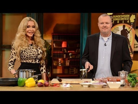 Buster Pasta - Raab kocht mit Dolly Buster - TV total