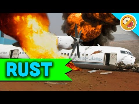 THE AIRPLANE CRASH  - Rust w/ Friends [Season 3: Episode 8]