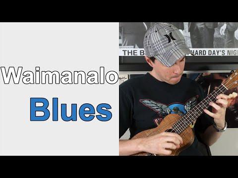 Waimanalo Blues - Solo Ukulele arr. : ukulele