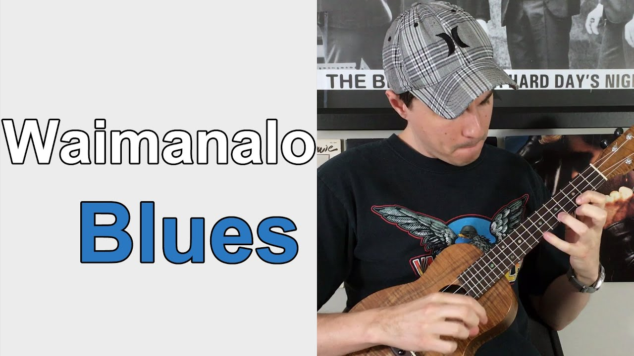 Waimanalo Blues Ukulele Lesson Hawaiian Song Youtube