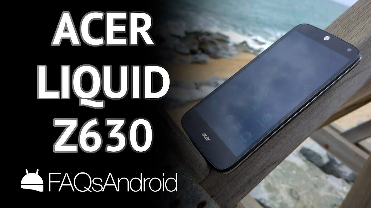 Análisis del Acer Liquid Z630 a fondo