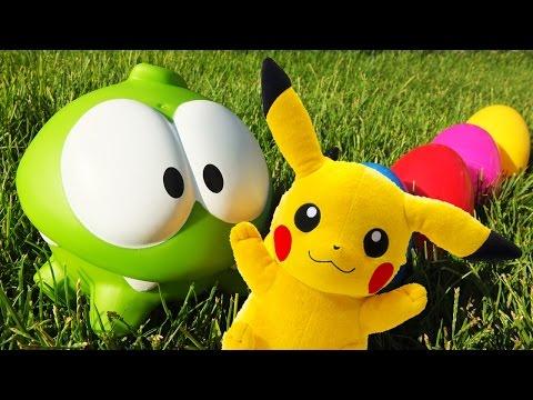 Видео: Поиграем вместе! - Приключения Ам Няма в поисках Пикачу и другие истории