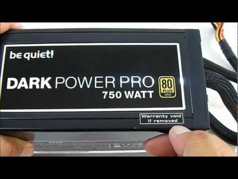 Be Quiet! Dark Power Pro 10 750W 80Plus Gold Power Supply Overview