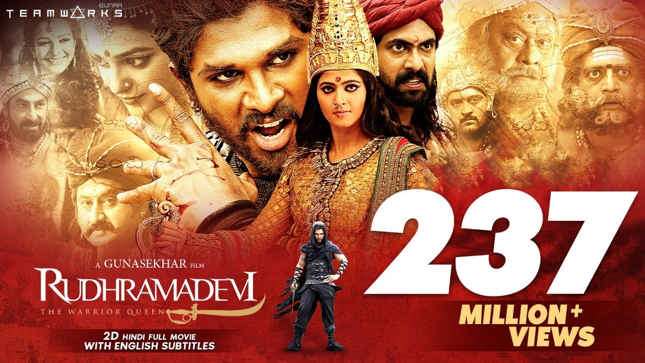 Rudhramadevi 2D Hindi Full HD Movie || Anushka Shetty, Allu Arjun, Rana || Gunasekhar