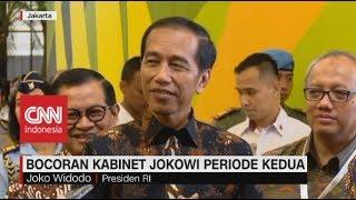 Ini Bocoran Kabinet Jokowi Periode Kedua