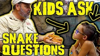 Kids Ask the Darndest Things at Reptile Zoo